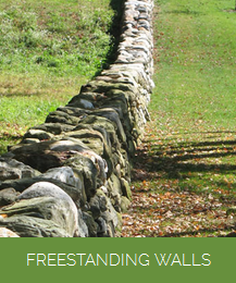 freestanding stone wall vermont