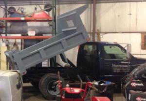 stonescapes dump truck